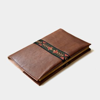 【Documents Maya steles】 leather leather notebook cover sets of folk style folk style custom stationery lettering father's Day when Father's Day