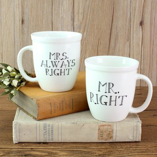 Mug set 15oz-Mr.and Mrs.