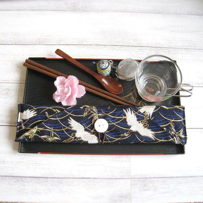 環保餐具組 餐具套 筷子套、餐具布套 飲管袋 CH-019