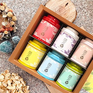 【wu-tsang】Flower Lover Tea - gift set (6 pcs)