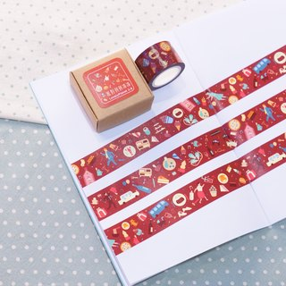 [Lonely Planet] paper tape - party patchwork