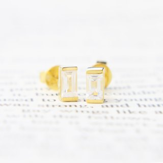 Goody Bag - (1+1) 3:am 18K Gold Plated Topaz Silver Earrings & Ring Gold