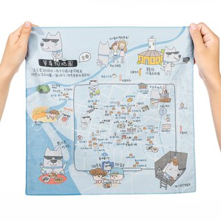 Tainan Go Le - Map of Handkerchief / Single Dog