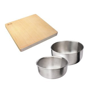 Goody Bag - [福袋] teak cutting board (small) + washing, conditioning group 2 into 21cm