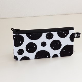 LU Canvas Small Pouch (circle)