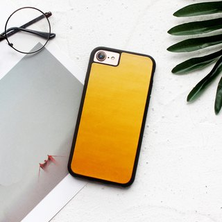 Yellow tea iphone xs max xr 6 7 8 plus x leather mobile phone case cover customized