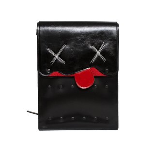 SUICIDE BIG COW LEATHER BACKPACK