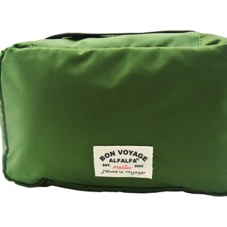 Jaime le Voyage Toiletry Bag(Army Green)