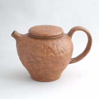 Red Tea Hand Ribbed Pot