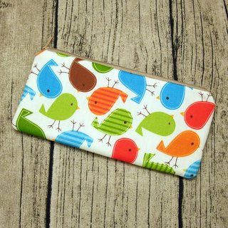 Large Zipper Pouch, Pencil Pouch, Gadget Bag, Cosmetic Bag (ZL-47)