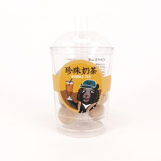MARK TAIWAN Mai Mai Treasure Map - Pearl Milk Tea Magnet
