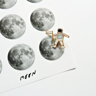 Moon Sticker