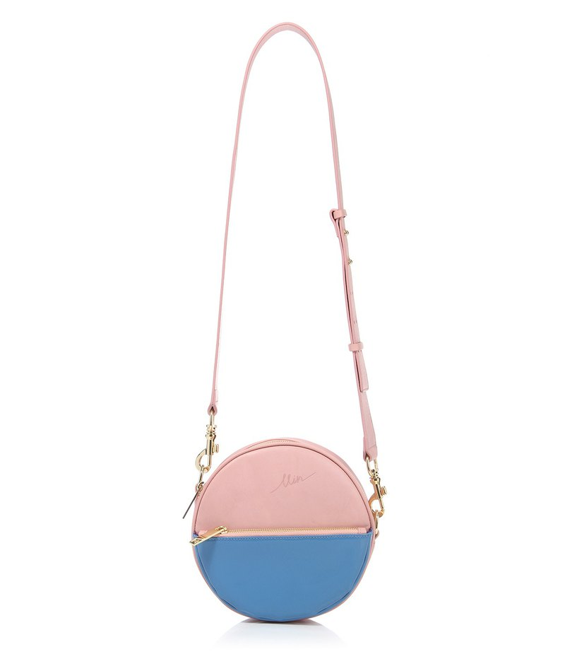 MIN Round Shape Purse One and a Half