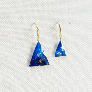 starry sky pierced or clip-on earrings