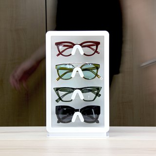 Glasses storage display box