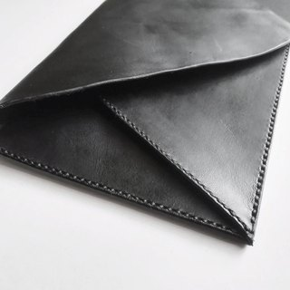 Black Envelope Clutch Bag - Simple Minimalist Chic Clutch
