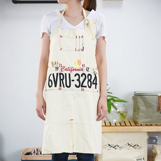 Garage-Work Apron (White)