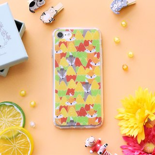 【NORWAY FOX- AUTUMN】ONOR CRYSTALS PHONE CASE
