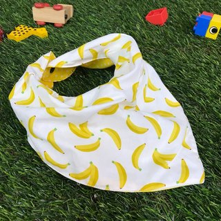 Fashion Scarf*Banana*Three-dimensional triangle bibs
