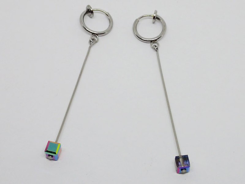 Lightup workshop - Stainless Steel earrings with SWAROVSKI ELEMENTS