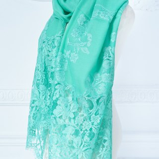 French lace scarf