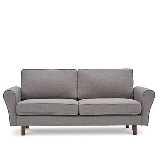 AJ2 │ 棠 │ graphite gray │ three-seat sofa
