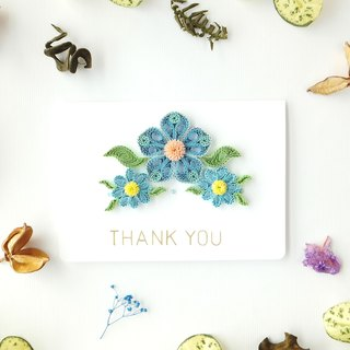 Hand made decorative cards-thank you card