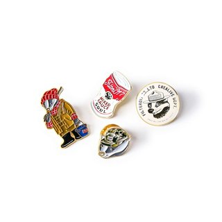 Filter017 Mix Badger / Classic Pack Lapel Pin  米斯獾 / 經典包裝胸章