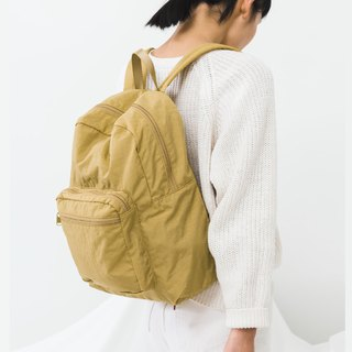 [New] BAGGU cushioning material backpack - mineral yellow