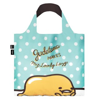LOQI Shopping Bag - Sanrio License (Egg Yellow Green GU01)
