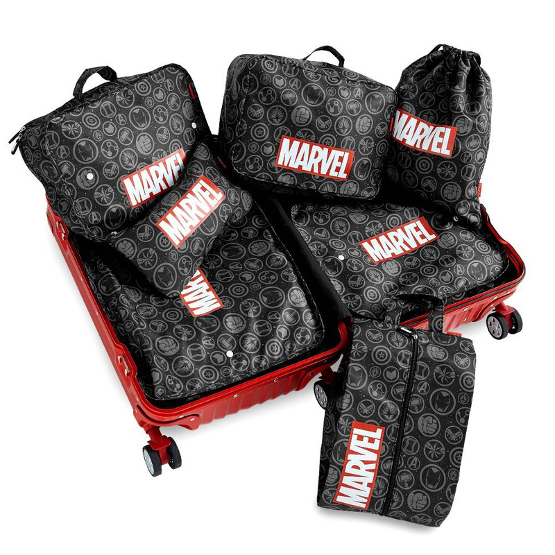 Marvel Marvel Series Avengers Travel Storage Set - Seven-piece