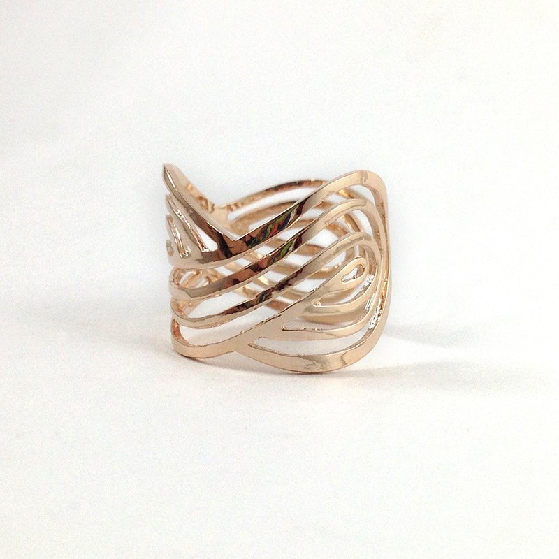 Valentine 's Day Gift ♥ Ohappy Elegant Series | Power Silver Silver Rose Ring