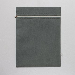 Notebook set simple and stylish 12.5 吋 pen set A4 file bag - Army Green