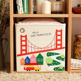 American kaikai & ash toy storage box - Hello! San Francisco