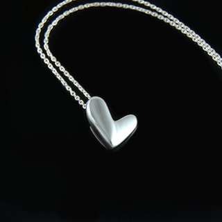 Love (silver necklace)