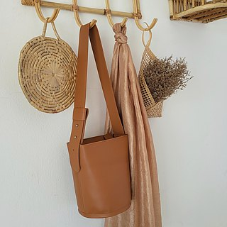 Whiteoakfactory Bold bucket bag - Brown