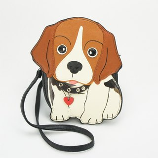Sleepyville Critters - Beagle Crossbody Bag