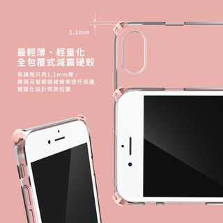 iPhone8 Plus / drop / phone shell / transparent / hard shell / gift