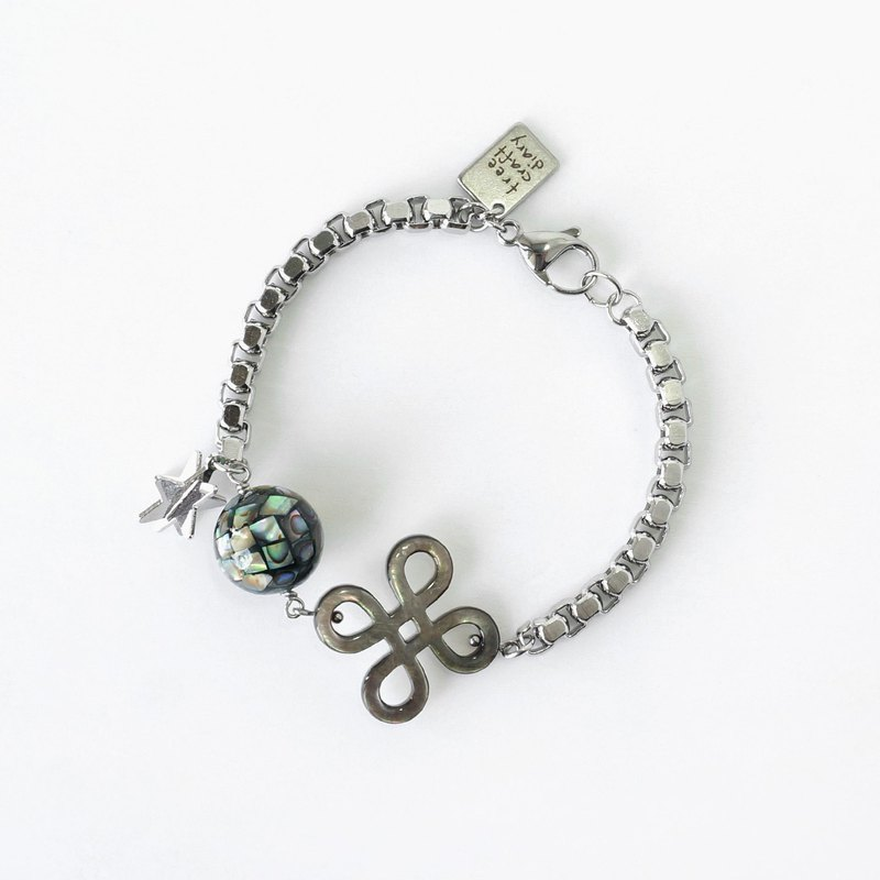 Unique Abalone Shell Ball Stylish Bracelet