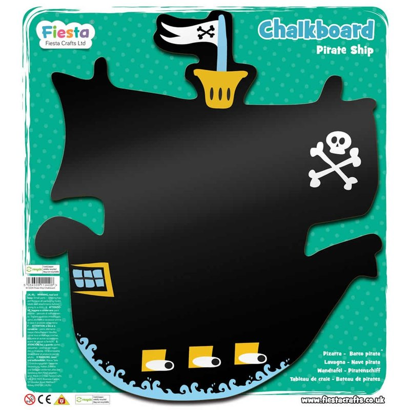 UK Fiesta good toy - pirate ship modeling blackboard Pirate Ship Chalkboard