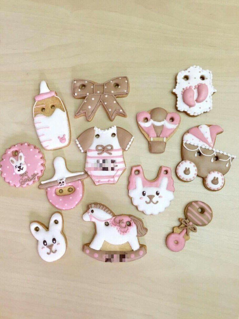 Cute Baby income salivary sugar cookie 12 group by anPastry