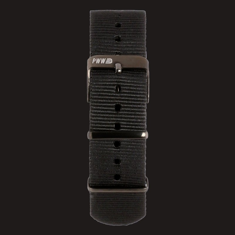 Signature NATO Strap 20mm - Muted Black