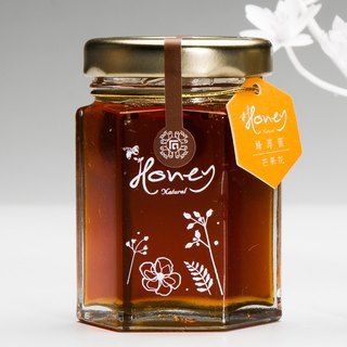 Bee honey honey mango flower honey flower drill small single bottle 70 g transparent boxed no picture small elevator