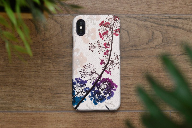 57-2 colorful flower iphone case for iphone 6,7,8, plus iphone xs, iphone xs max
