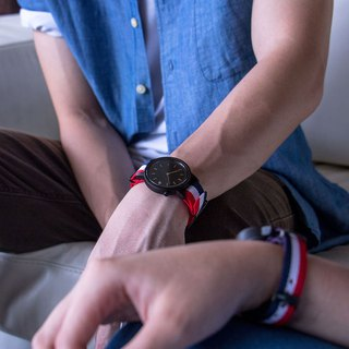 PRIME 1.0.1 Dark Hardwood Wooden Watch - The Patriot 42mm
