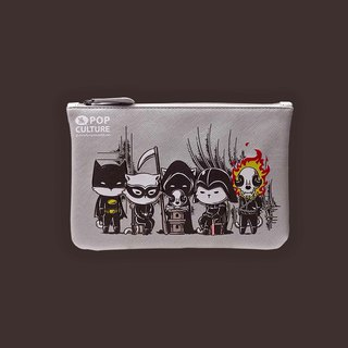 Sigema X Flying Mouse Zip Pouch Dark Society Pouch Bag Universal Bag Cosmetic Bag Small Bag Clutch Bag