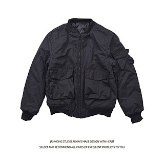 MA-1 neutral multi-pocket air suit short jacket winter warm jacket (cash models)