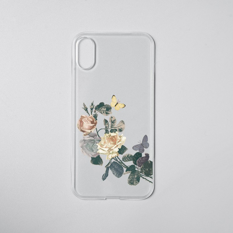 Mod NX/CrashGuard NX Single Buy Back/Flower-Blood for iPhone Series