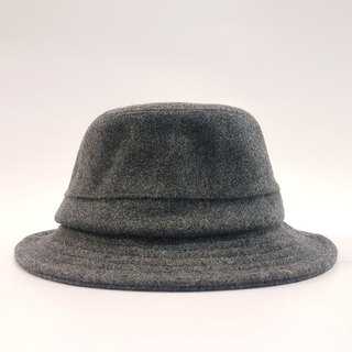 British disc gentleman hat - fashion gray (texture stiff) #限量#秋冬#礼物#暖暖#毛料