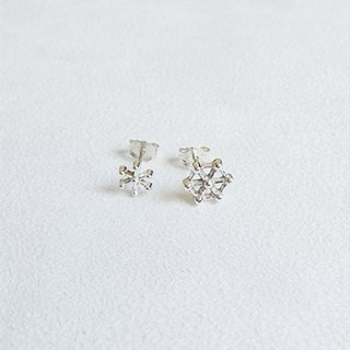 The frost/Earrings/Sterling Silver/By hand【ZHÀO】SZE1639